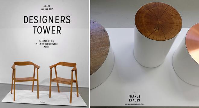Passagen, Passagen 2015, Interior Design Week, Cologne, Köln, Design, Produktdesign, Möbeldesign, Einrichtung, Möbel, Event, Designers Tower, Young Talents
