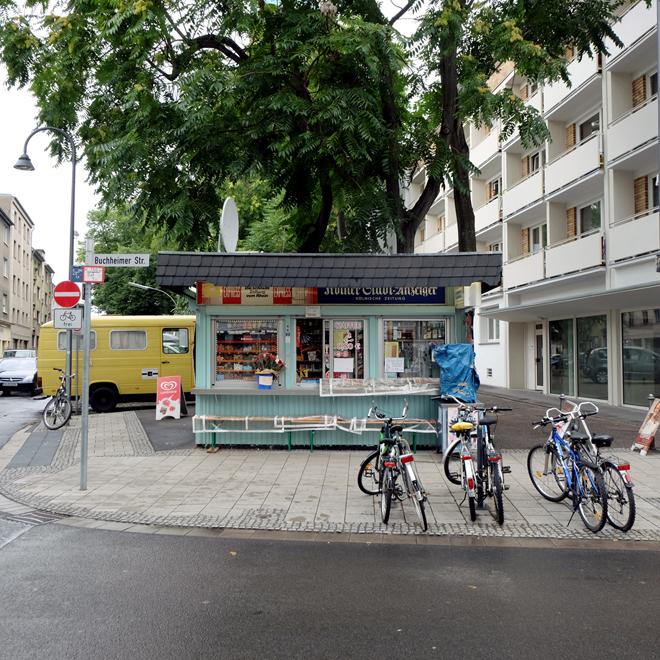 Streetart Köln-Mülheim, Büdchen, Bude, Kölsch, Urbanstyle, Mülheim,