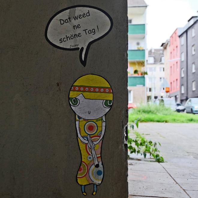 Streetart Köln-Mülheim, Streetart Cologne, Urbanstyle, Urbanart, Mülheim, Köln Kunst, Straßenkunst, Joiny