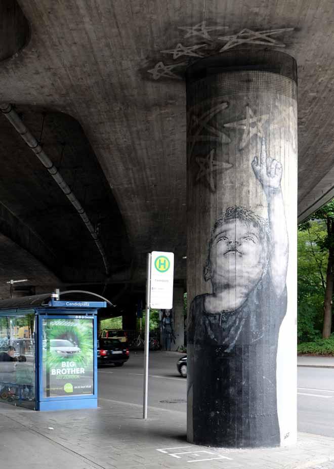 L.E.T., Les Entfants Terrible, Streetart in München, Urbanart, Munich, Urbanism, Urbanstyle