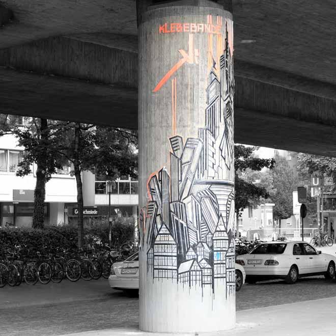 Klebebande Berlin, Streetart in München, Urbanart, Munich Graffiti, Urbanism, Urbanstyle