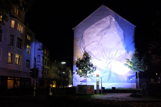 Museumsnacht, Köln, 16. Museumsnacht, Museum, Nacht, Museumsnacht 2015, Axel Void, Streetart, City Leaks, 2015, streetartcologne, Minza will Sommer, Köln-Mülheim