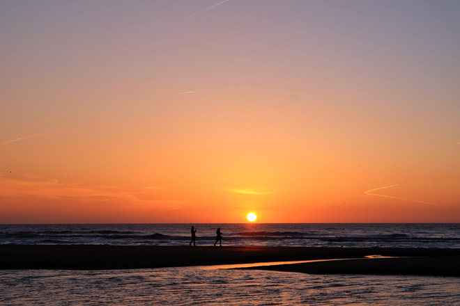 Geburtstag, Meer, Minza will Sommer, Ein Tag am Meer, Ausflug ans Meer, Bett mit Meerblick, Nordseestrand, Nordsee, Niederlande, Holland, Spaziergang, Sonnenuntergang