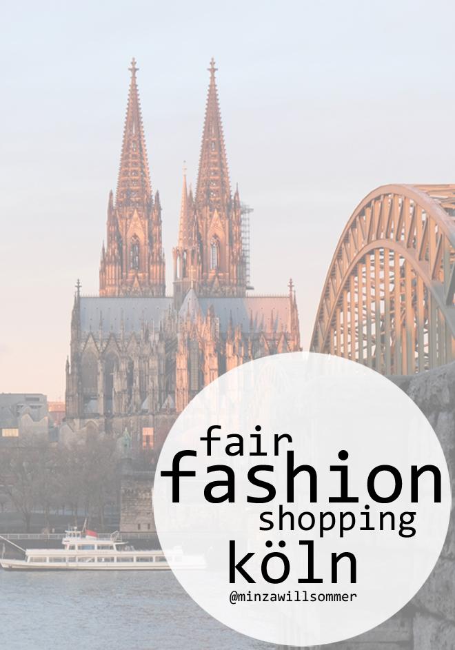 Fair Fashion in Köln, Grüne Mode, ethisch faire Kleidung, Shoppingtipps in Köln, Ethicalfashion, Ecofashion, Slowfashion, vegan fashion, öko mode, organic fashion, sustainable lifestyle, shoppingguide cologne, einkaufsratgeber köln, einkaufen in köln, fair shoppen in köln, nachhaltige mode, nachhaltigkeit, fairfitters, kiss the inuit, lanius, green guerillas, funktionsschnitt, minza will sommer
