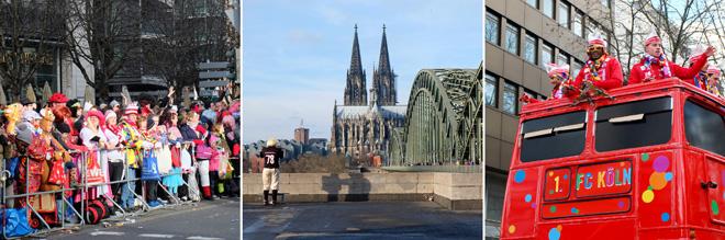 Rosenmontag, Rosenmontagzug, Karneval, Kölner Dom, Köln