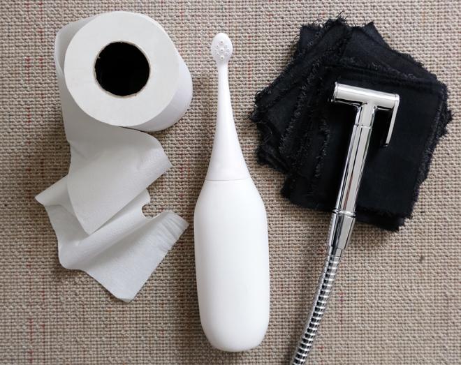 Zero Waste Bad, Pobrause, Podusche, Klo ohne Toilettenpapier,