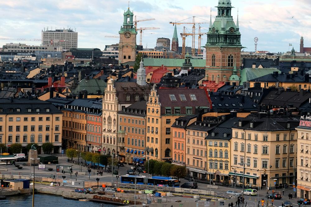 stockholm hafen, stockholm kulisse