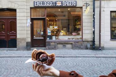 essen in stockholm, beste zimtschnecke vegan, gamla stan