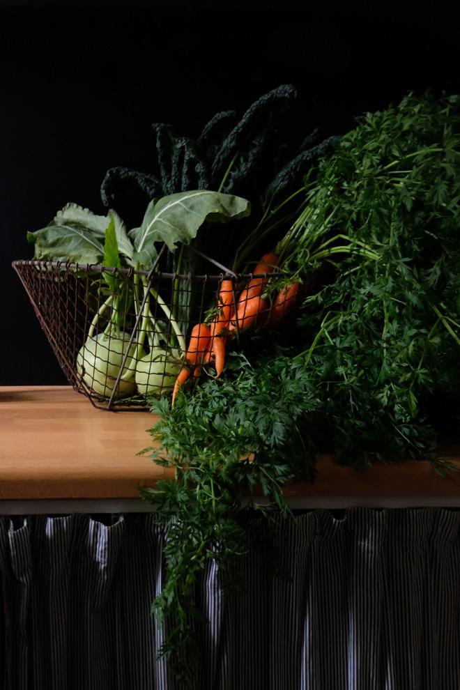 Lebensmittelverschwendung, Rezept mit Gemüseabfall