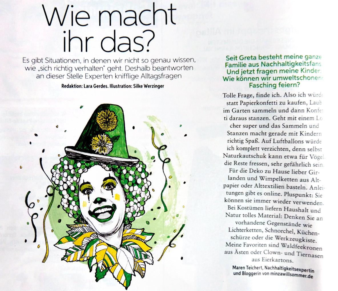 zero waste karneval, müllfrei karneval feiern