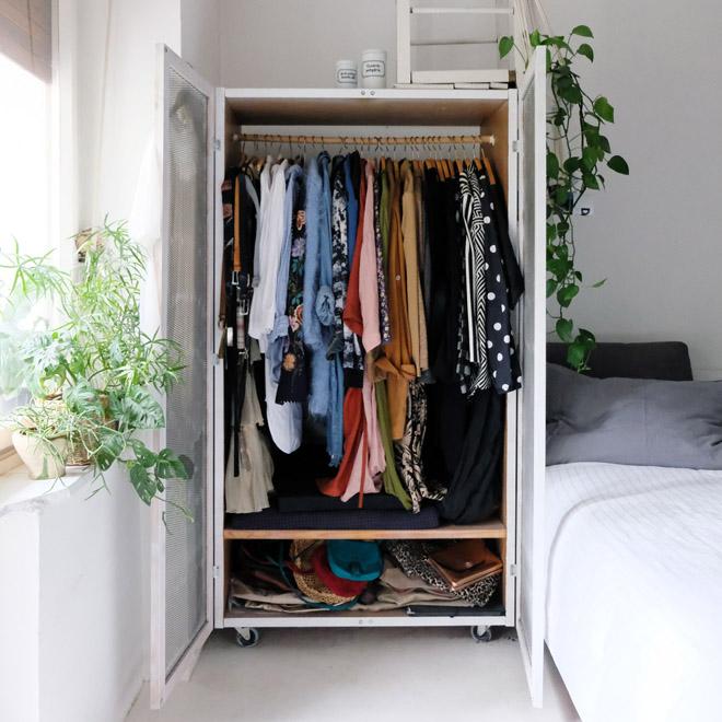 nachhaltiger Kleiderschrank, Mode und Umweltschutz, nachhaltige Mode, Umstellung auf nachhaltig, Kritik Marie Kondo, Capsule Wardrobe